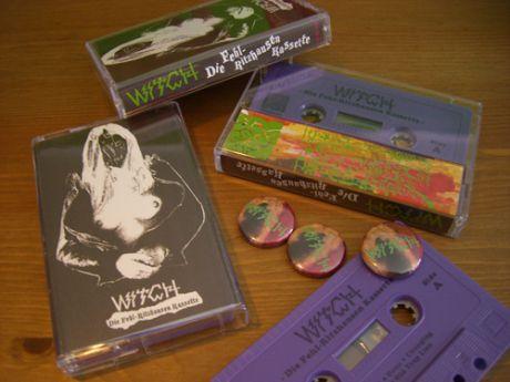Witch Roadburn Cassette & Buttons