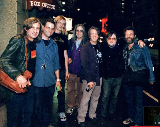Picture of Steve Mackay, Eric Fischer, David Shied, J Mascis, George Berz, Ron Asheton, Mike Watt by Peter Whitfield http://pgwhitfield.com