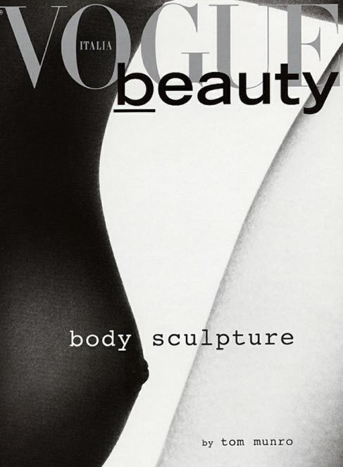 Tom Munro - Vogue Italia Beauty - Body sculpture