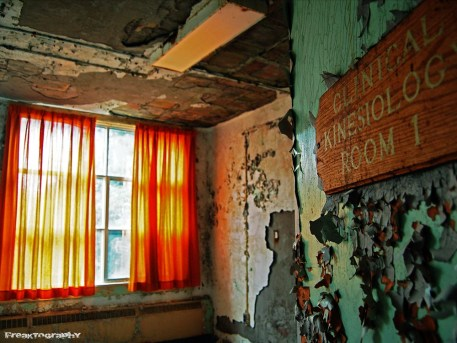 abandoned hospital clinical kinesiology