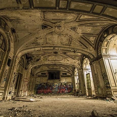 Lee Plaza Detroit Abandoned Ballroom