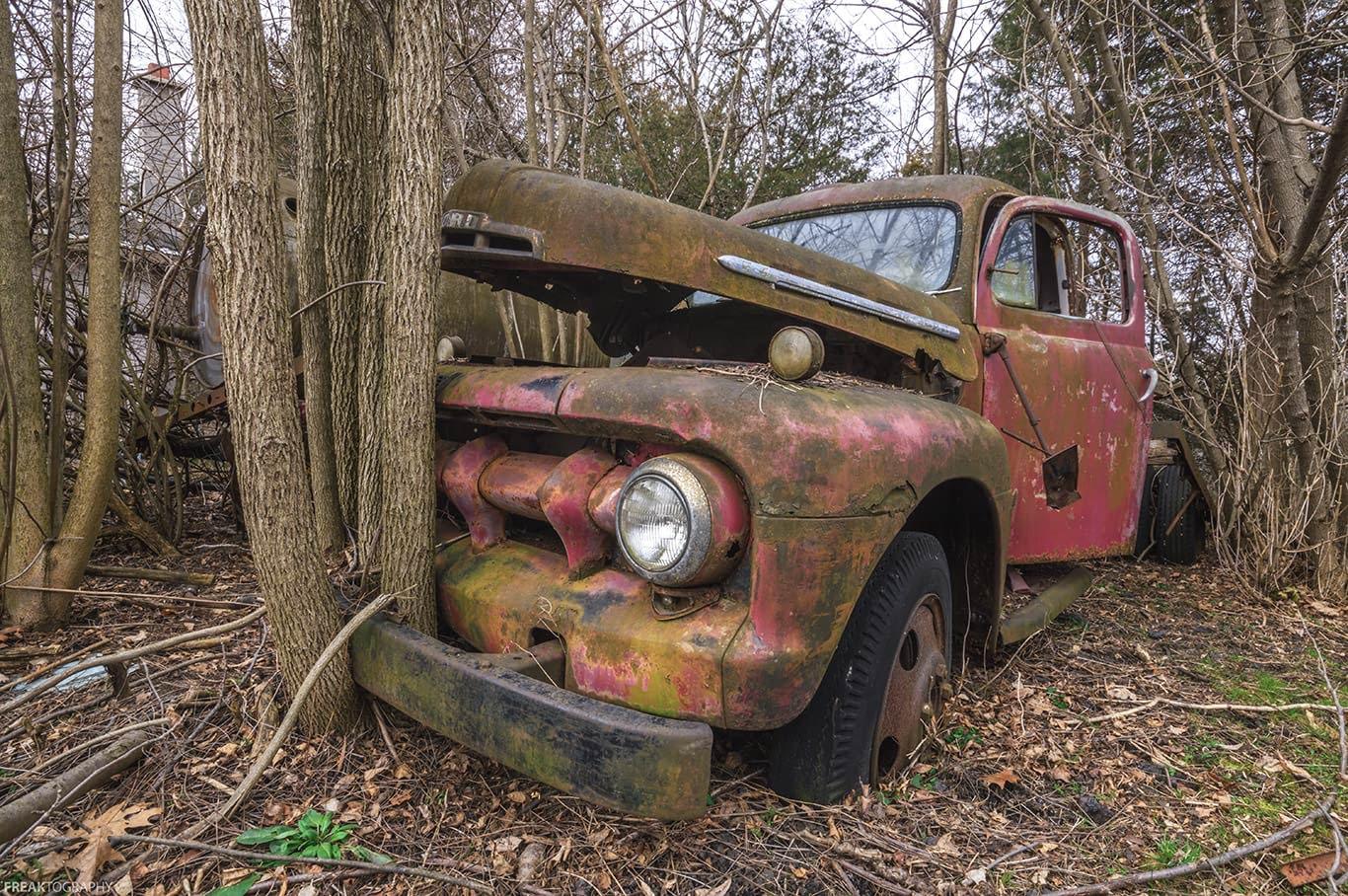 Abandoned Truck Freaktography Print