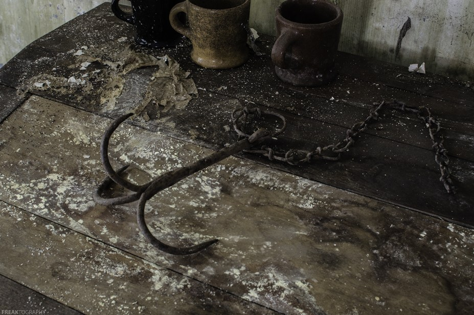 Grappling Hook in an Abandoned House