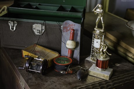 abandoned sports items