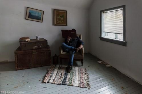 Freaktography, abandoned, abandoned photography, abandoned places, basket, carpet, chair, creepy, decay, derelict, haunted, haunted places, photography, portrait, self portrait, urban exploration, urban exploration photography, urban explorer, urban exploring, window