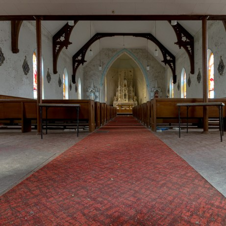 A peek inside of an abandoned church in rural Ontario, Canada that has been sealed off from the world for several years. Freaktography: Abandoned Places, Urban Exploration, Photography of the normally unseen and off-limits.