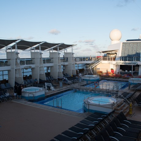 Celebrity Silhouette Cruise 2018 Upper Deck Pool, Freaktography, celebrity, celebrity silhouette, cruise, cruiseliner, explore, ocean, photography, ship, silhouette, travel, travel photography, wander, wanderlust