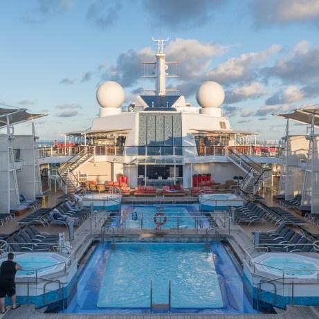 Celebrity Silhouette Cruise 2018 Upper Deck Pool, Freaktography, celebrity, celebrity silhouette, cruise, cruiseliner, explore, ocean, photography, san juan, san juan puerto rico, ship, silhouette, tourism, travel, travel photography, wander, wanderlust
