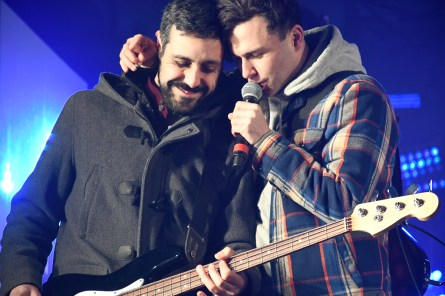 #mediaresources #bell #bellcanada #lightupthe6 #toronto #event #yongeanddundas, arkells, city and colour, concert photography, event photography, the arkells