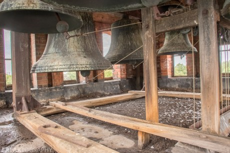 Abandoned Ontario Church Bell Tower. By Freaktography Urban exploration photographer
