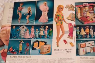 Vintage Simpsons Sears Catalogue Christmas 1966