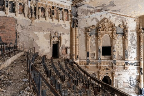 abandoned cooley high detroit theatre.