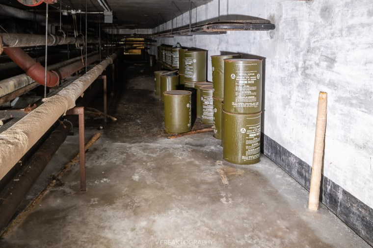 abandoned detroit cooley high school basement survival supplies