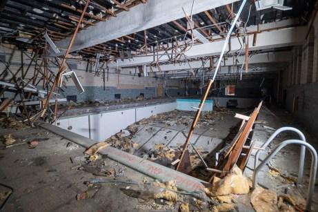 abandoned detroit cooley high school pool