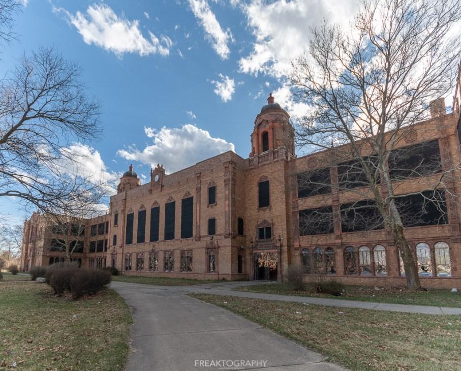 abandoned detroit cooley high school