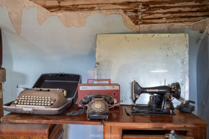 Abandoned Time Capsule Farmhouse Antique Audio Equipment