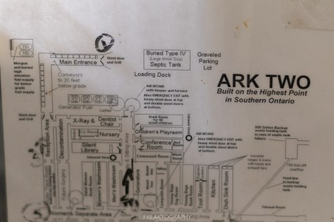 Ark Two Nuclear Shelter Bruce Beach Ontario
