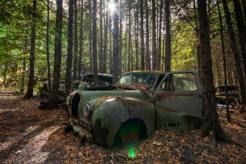 mcleans auto wreckers car graveyard | abandoned cars