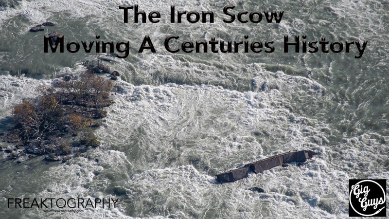 Niagara Falls Scow 2019 The Iron Scow Moving a Centuries History