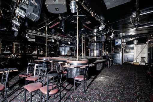 abandoned caddys strip club