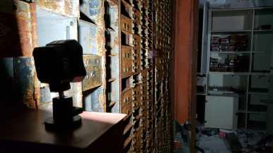 abandoned bank vault lume cube photography