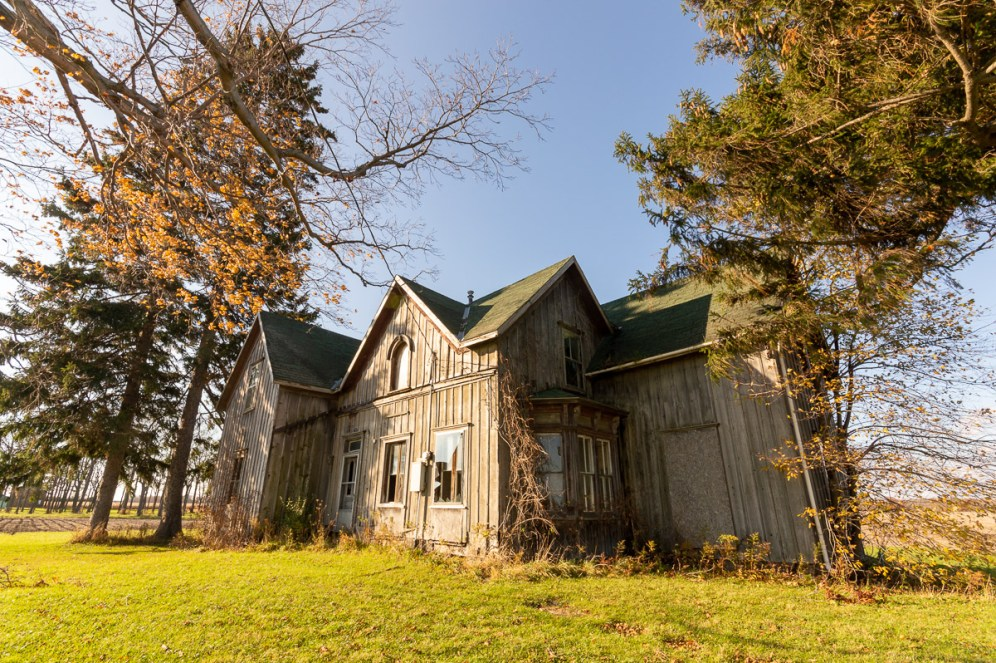 2015 abandoned house port royal ontario