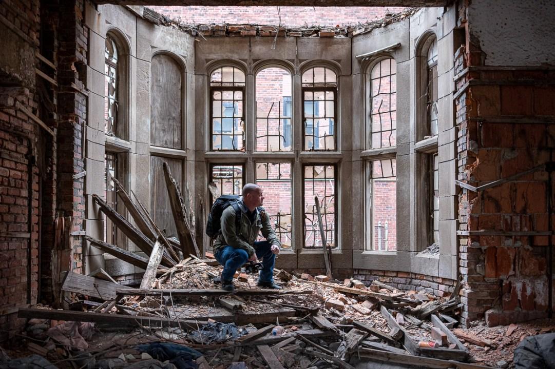 Freaktography Abandoned City Methodist Church Gary Indiana