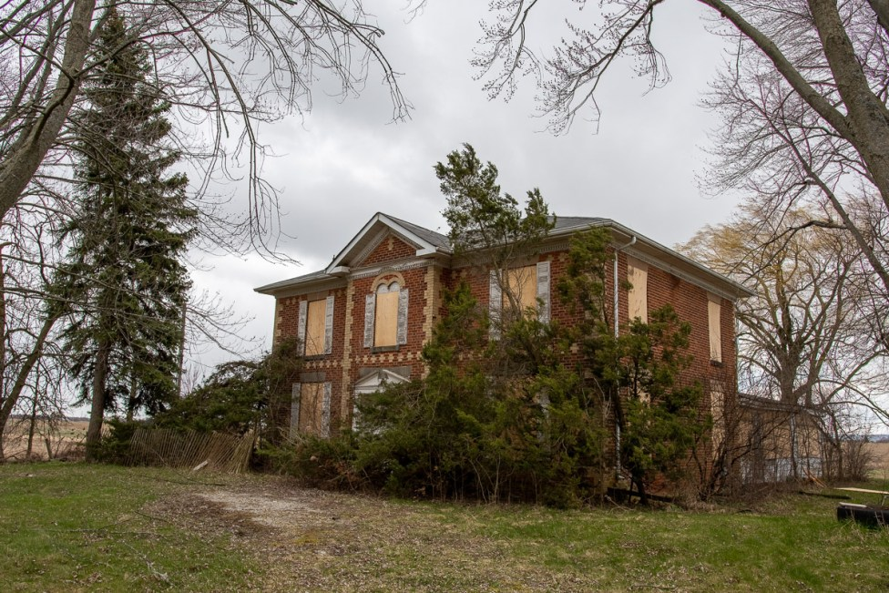 abandoned ontario heritage house 1877
