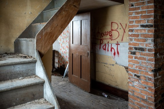 classic ontario abandoned house