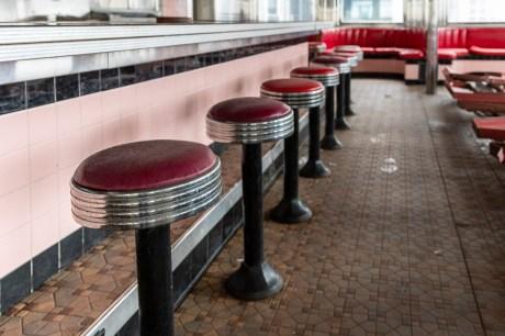 rosies diner abandoned 50s diner