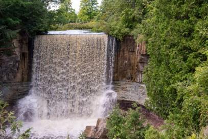 indian falls waterfall owen sound