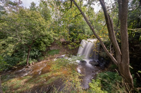 keefer falls waterfall owen sound