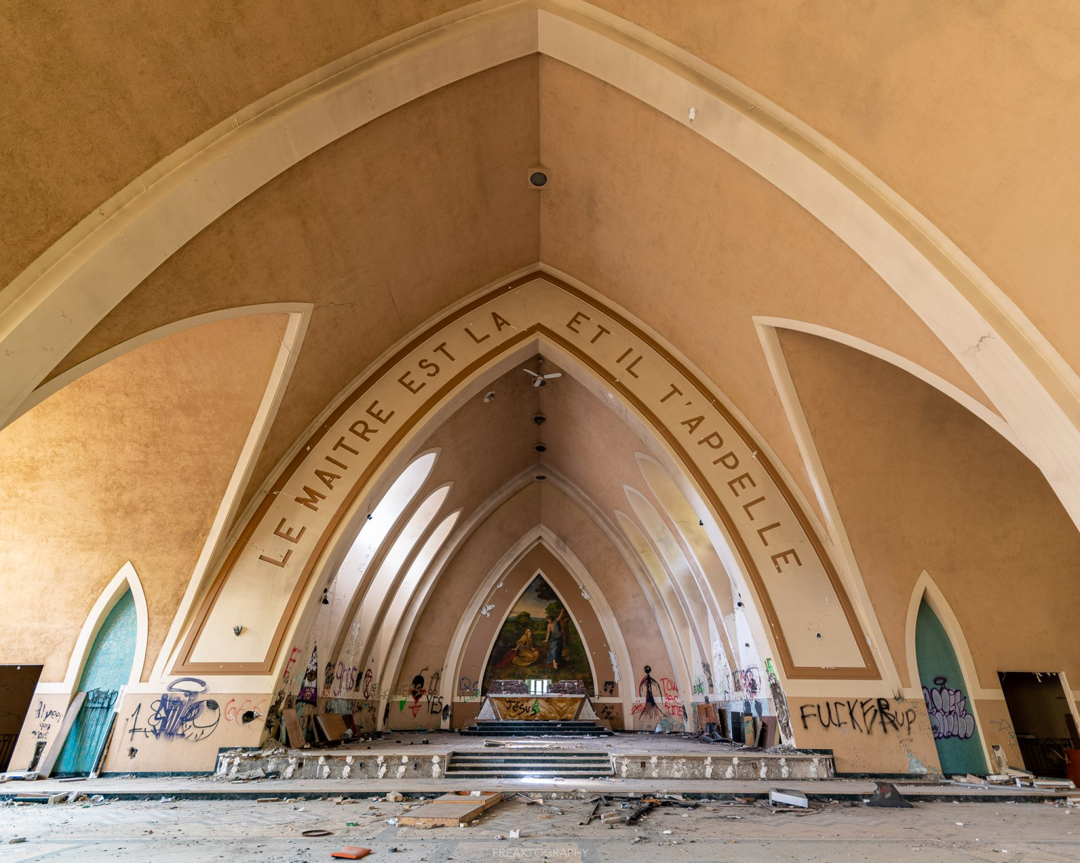 Condemned Abandoned Deserted Catholic Church