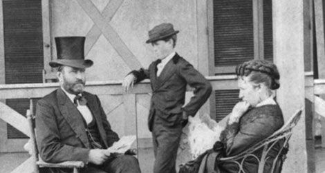 Andrew_Johnson - Abraham Grant With his wife and Kid In New Jersey - Lincoln Assassination Facts