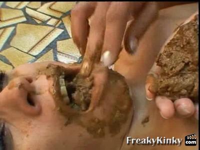 hentai forced scat femdom