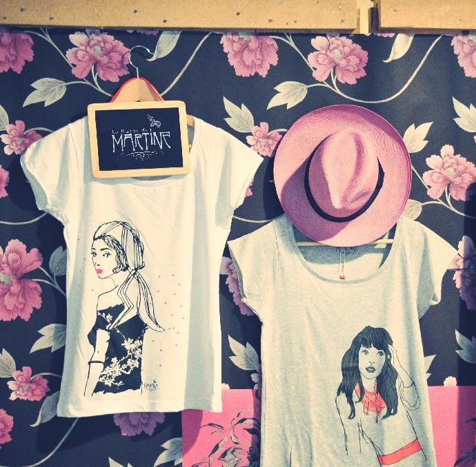 Le Bazar de Martine par Anne-Sophie Perre, illustratrice freelance Lyon