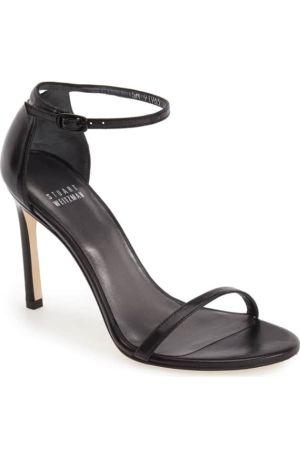 Stuart black sandals