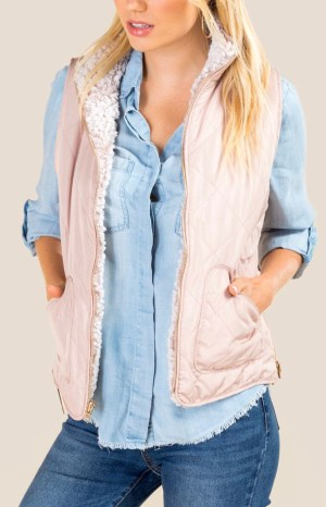 Fran reversible vest