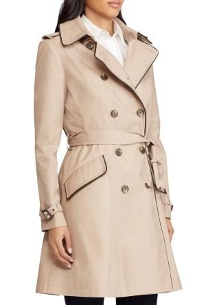 Polo trench coat
