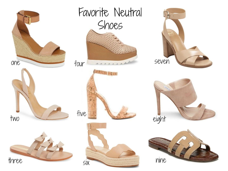 Current favorite neutral shoes