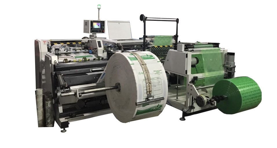 cutting sewing insert machine