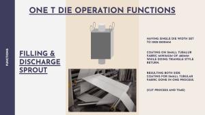 Dual Extruder Lamination Machine