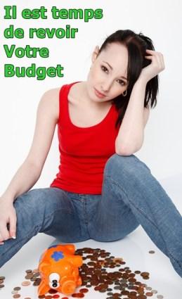 Il est temps de vous faire un budget