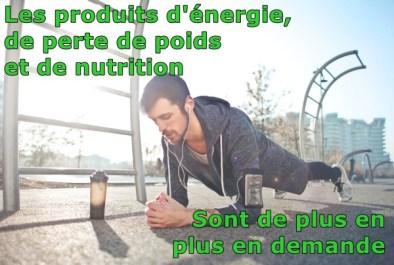 les produits d'énergie et de nutrition que Qsciences offre sont en grande demande