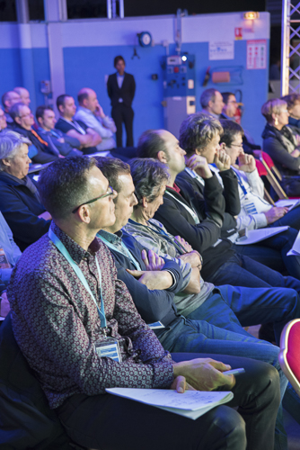 photo reportage colloque salon professionnel débat table ronde