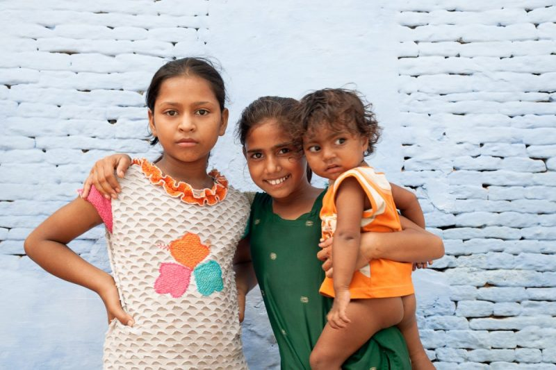 Dans les rues Agra