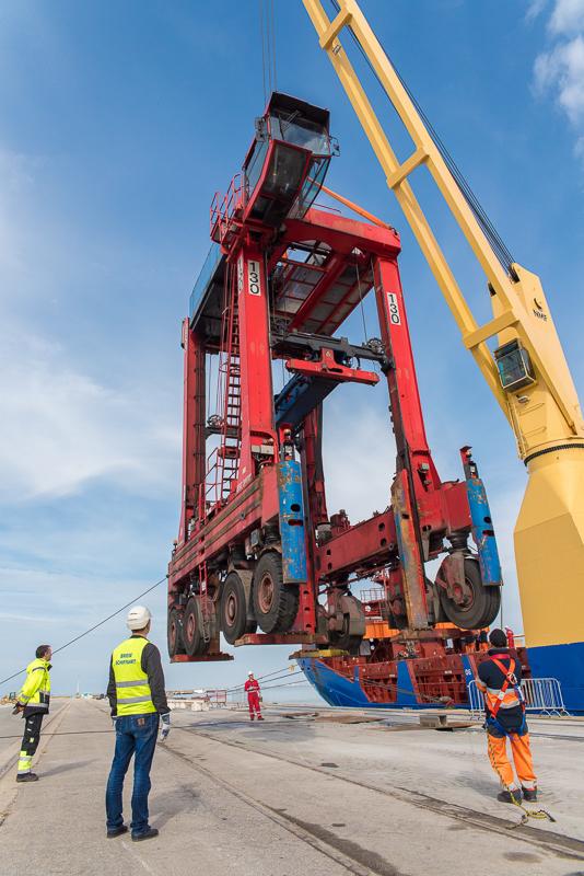 Port de Bordeaux de nouveaux chantiers