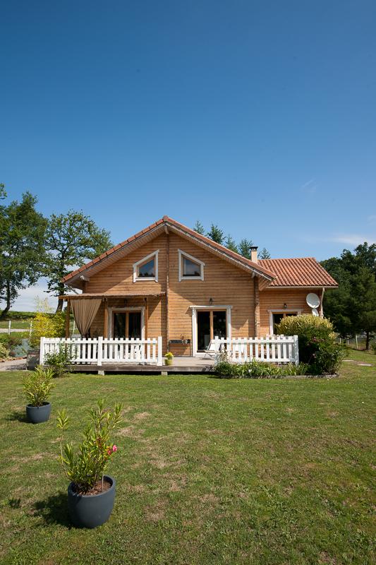 reportage maison ossature bois Limoges