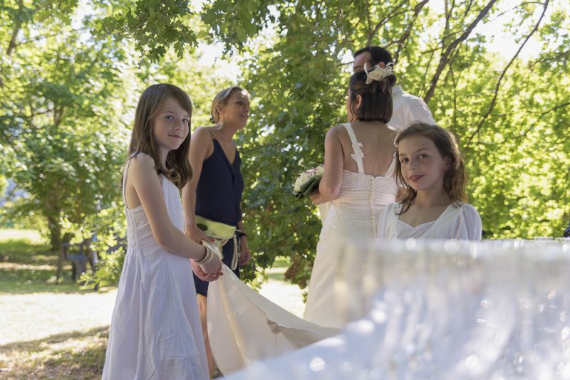 photo des demoiselles d'honneur mariage Gironde