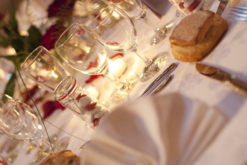photo banquet de mariage à Mérignac